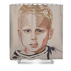 Gage Infj Shower Curtain