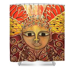 Gaia - Mother Earth  Shower Curtain