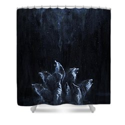 Gaia's Chorus Shower Curtain
