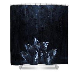 Gaia's Chorus Shower Curtain