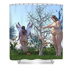 Gained Loss  Shower Curtain
