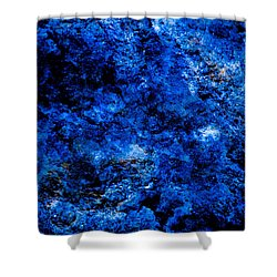 Galactic Night Abstract Shower Curtain by Bruce Pritchett