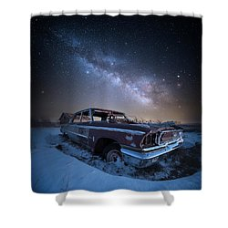 Galaxie 500 Shower Curtain