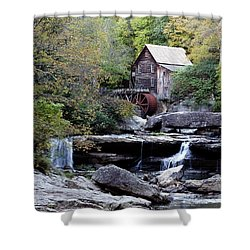 Galde Creek 2 Shower Curtain