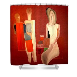 Galeries Lafayette Shower Curtain