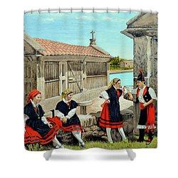 Galicia La Bella Shower Curtain by Tony Banos