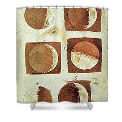 Galileo - Moon Shower Curtain by Granger