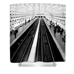 Gallery Place Metro Shower Curtain