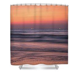 Galveston Morning Shower Curtain