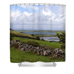 Galway Bay Shower Curtain by Keith Stokes