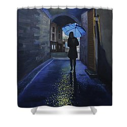 Galway Girl Shower Curtain