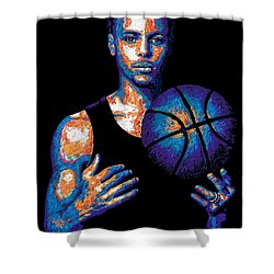 Game Changer Shower Curtain