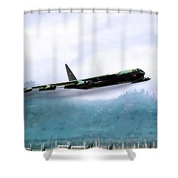 Game Time Shower Curtain by Peter Chilelli