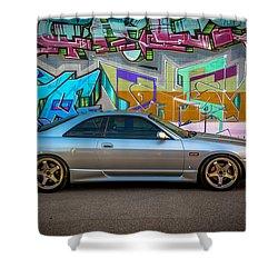 Gamera_r33 Shower Curtain