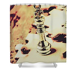 Games And Puzzles Shower Curtain by Jorgo Photography - Wall Art Gallery