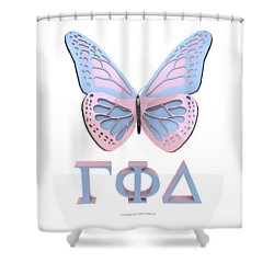 Gamma Phi Delta Shower Curtain