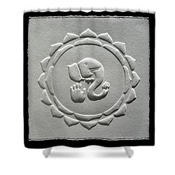 Ganesha Blessings Shower Curtain