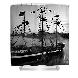 Gang Of Pirates Shower Curtain by David Lee Thompson