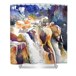 Gangotri Shower Curtain