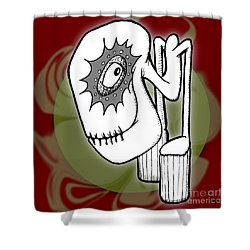 Ganix Shower Curtain