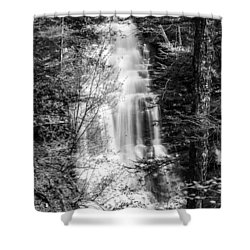 Shower Curtain featuring the photograph Ganoga Falls - 8907 by G L Sarti