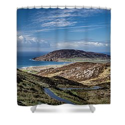 Gap Of Mamore Shower Curtain
