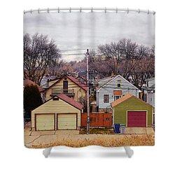 Garages Shower Curtain
