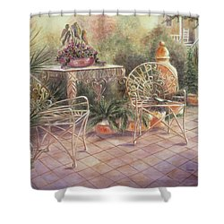 Garden At Linwood  Shower Curtain
