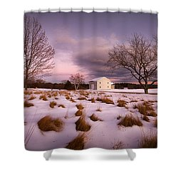 Garden Barn Shower Curtain