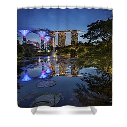 Garden By The Bay, Singapore Shower Curtain