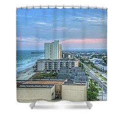 Garden City Beach Shower Curtain