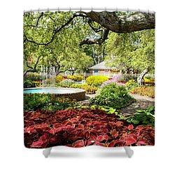 Garden Colors Shower Curtain