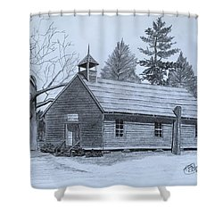 Garden Creek Baptist Church  Shower Curtain