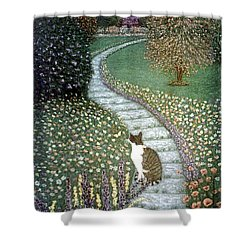 Garden Delights II Shower Curtain