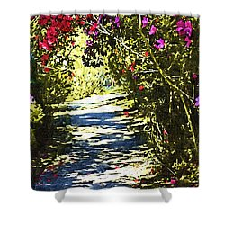 Shower Curtain featuring the photograph Garden by Donna Bentley