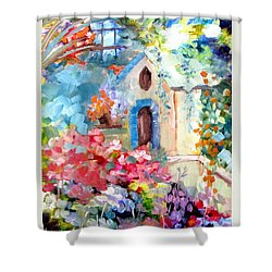 Garden Door  Shower Curtain