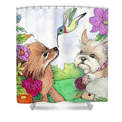 Garden Dwellers Shower Curtain