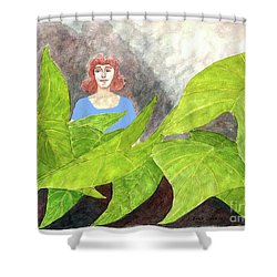 Garden Fantasy  Shower Curtain by Fred Jinkins