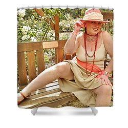Garden Gypsy Shower Curtain by VLee Watson