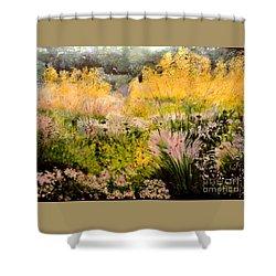 Garden In Northern Light Shower Curtain