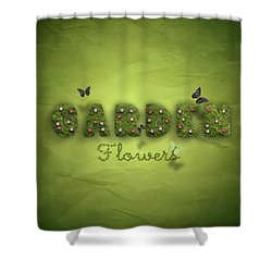 Garden Shower Curtain by La Reve Design
