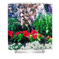Garden Landscape 2 Version 1 Shower Curtain