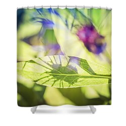 Garden Mysteries Shower Curtain by Michele Cornelius
