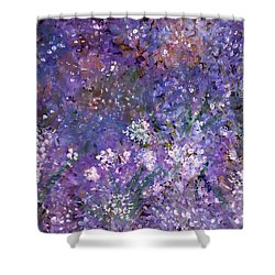 Garden Of Eden Painting Shower Curtain