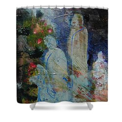 Garden Of Good And Evil Shower Curtain