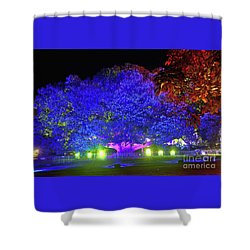 Shower Curtain featuring the photograph Garden Of Light By Kaye Menner by Kaye Menner