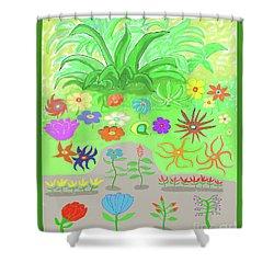 Garden Of Memories Shower Curtain