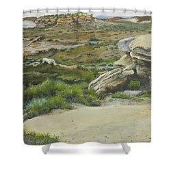 Garden Of Stone Shower Curtain