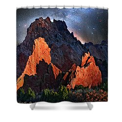 Garden Of The Gods Fantasy Art Shower Curtain