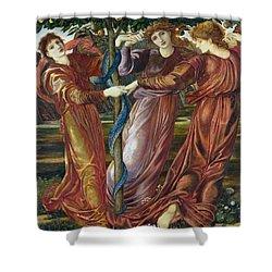 Garden Of The Hesperides Shower Curtain by Sir Edward Burne Jones